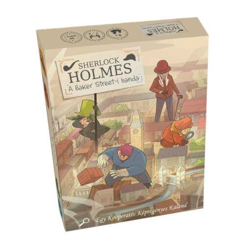 Sherlock Holmes: A Baker Street-i banda kalandjáték