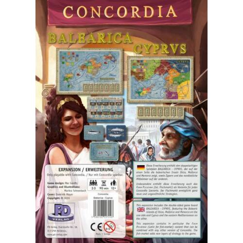 Concordia: Balearica/Cyprus kiegészítő