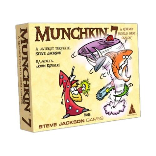 Munchkin 7: A kezemet figyeld, mert csalok