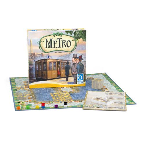 Metro társasjáték kegészítőkkel