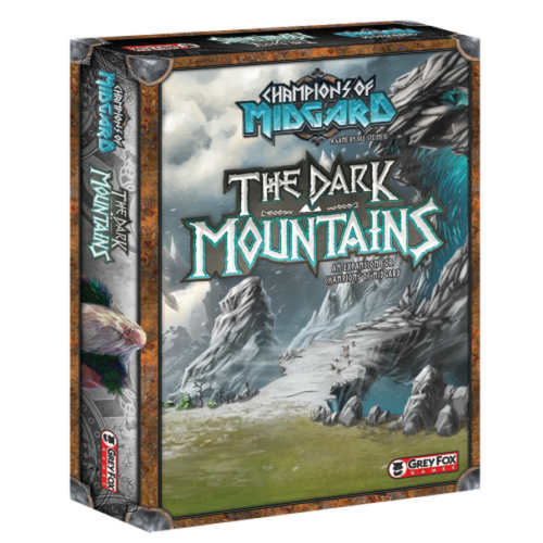 Champions Of Midgard: The Dark Mountains kiegészítő
