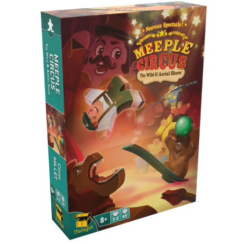 meeple circus wild animal kiegészítő