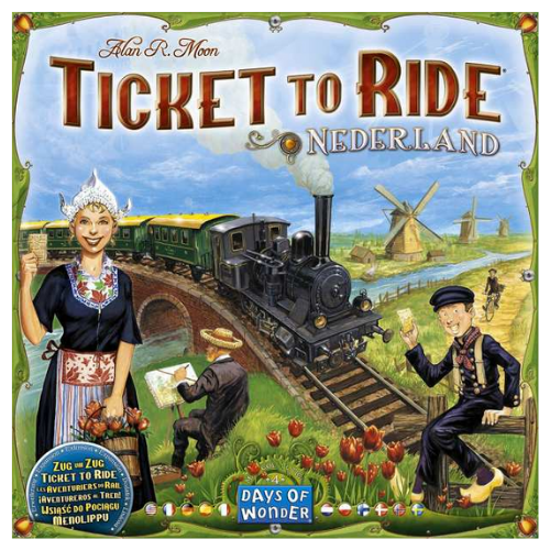 Ticket to Ride Nederland hollandia