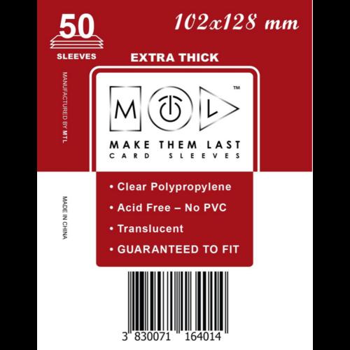MTL 102x128 mm premium kártyavédő
