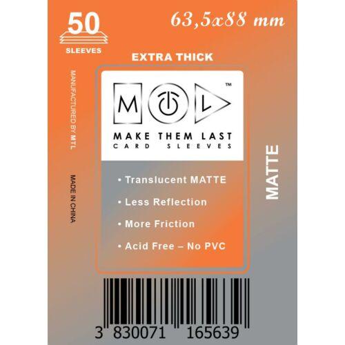 63,5x88 mm premium MATT kártyavédő
