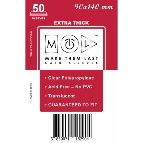 MTL 90x140 mm premium kártyavédő