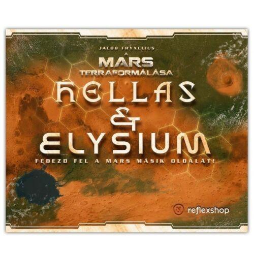 A Mars Terraformálása: Hellas & Elysium Kiegészítő
