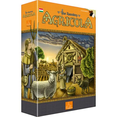 Agricola (új kiadás, hobbi) társasjáték
