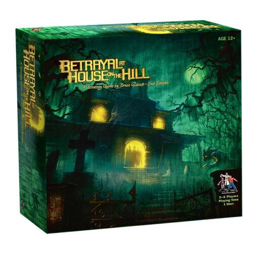 Betrayal at House on the Hill angol nyelvű társasjáték
