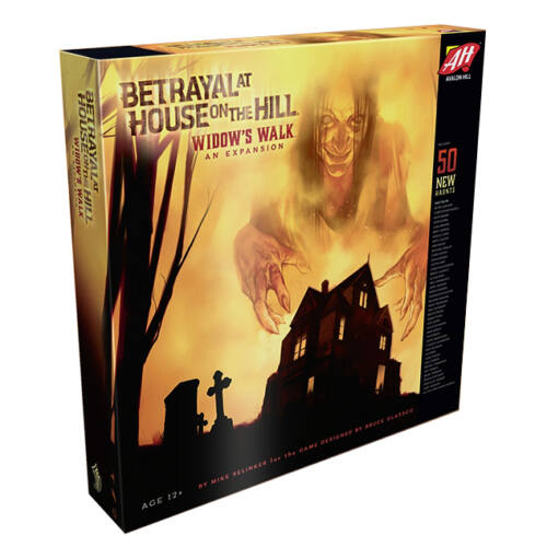 Betrayal at House on the Hill: Widow's Walk angol nyelvű kiegészítő