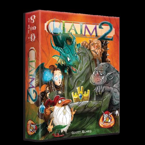 Claim 2 társasjáték - angol nyelvű