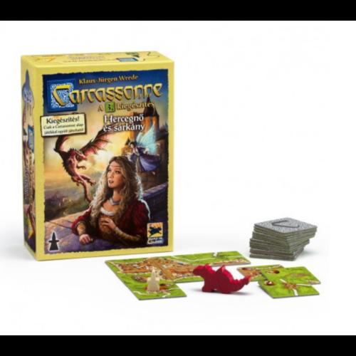 Carcassonne: 3. kiegészítő - A Hercegnő és a Sárkány kiegészítő