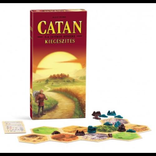 Catan Telepesei: Kiegészítő 5-6 Játékos Részére kiegészítő