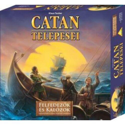 Catan Telepesei: Felfedezők és Kalózok kiegészítő