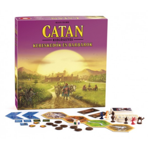 Catan Telepesei: Kereskedők és Barbárok kiegészítő
