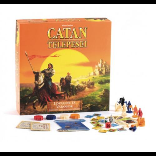 Catan Telepesei: Lovagok és Városok kiegészítő