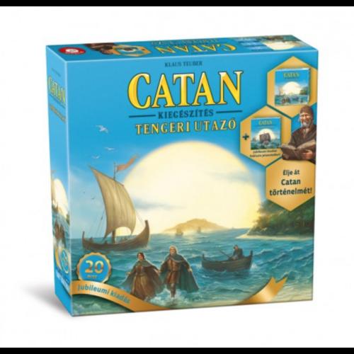 Catan Telepesei: Tengeri Utazó kiegészítő