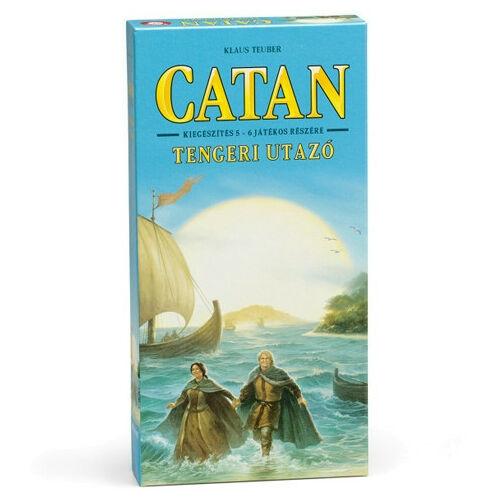 Catan Telepesei: Tengeri Utazó Kiegészítő 5-6 játékos részére