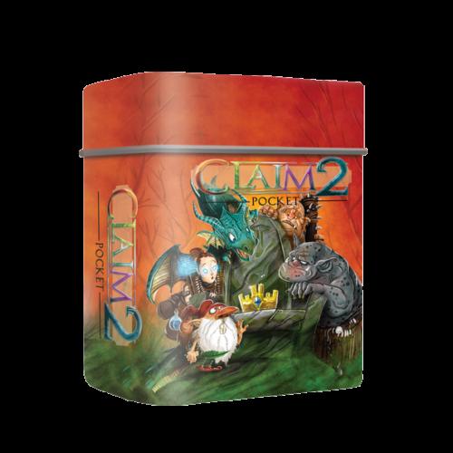 Claim Pocket 2 (angol) társasjáték