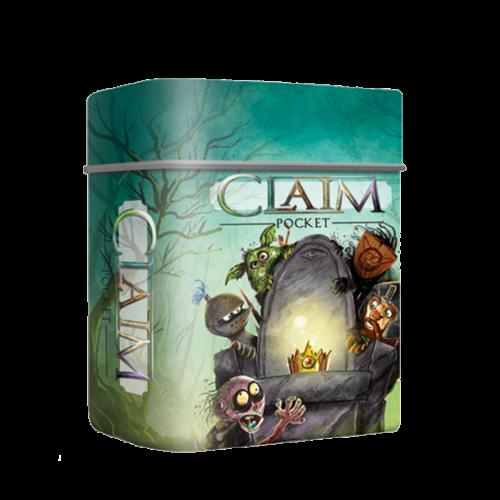 Claim Pocket (angol) társasjáték