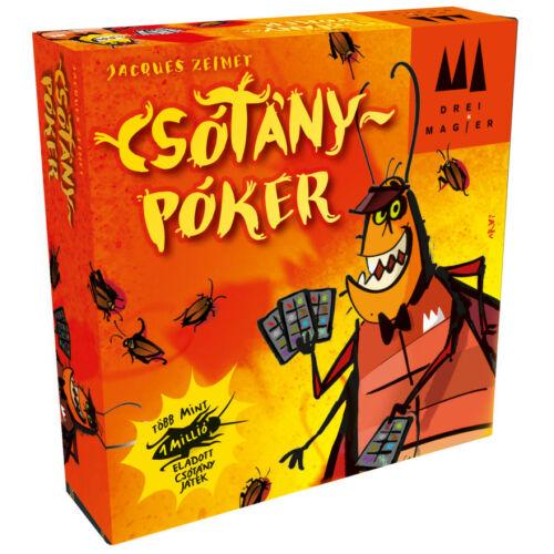 Csótánypóker társasjáték