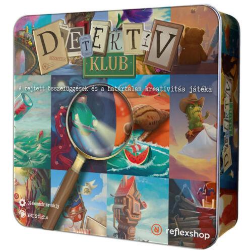 Detektív klub társasjáték