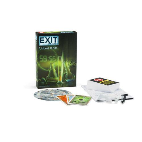 Exit 2 - Titkos labor társasjáték