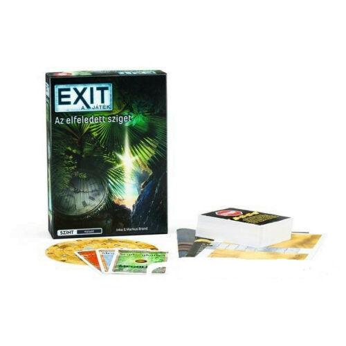Exit 4 - Az elfeledett sziget társasjáték