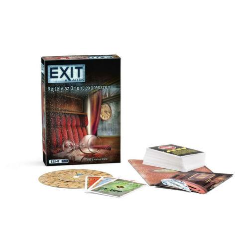 Exit 7 - Rejtély az Orient Expresszen társasjáték