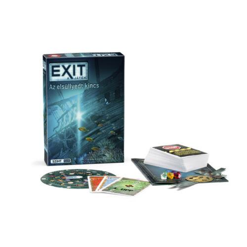 Exit 8 - Az elsüllyedt kincs társasjáték