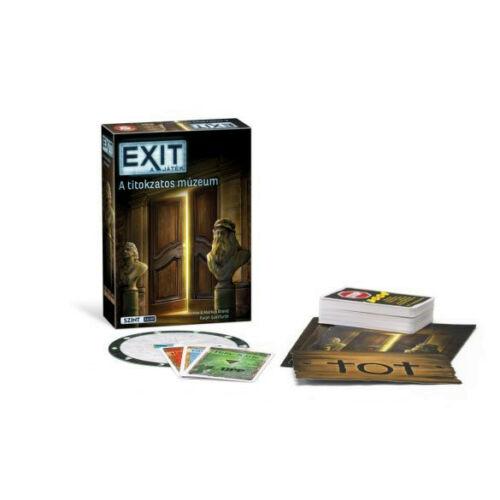 EXIT 9. A titokzatos múzeum társasjáték