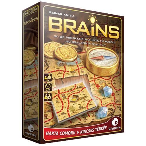 Brains: Kincses térkép logikai játék
