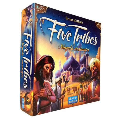 Five Tribes - Naqala Dzsinnjei társasjáték