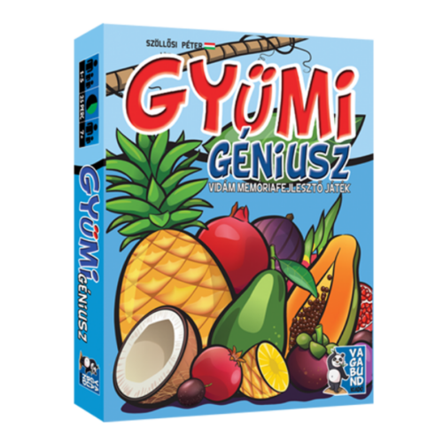 Gyümi Géniusz - kártyajáték
