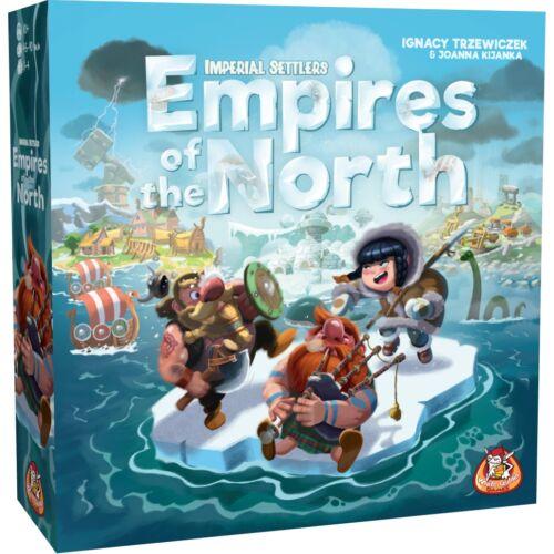 Imperial Settlers: Empires of the North társasjáték (angol nyelvű)