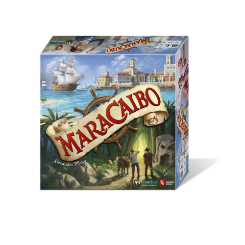 Maracaibo angol nyelvű társasjáték