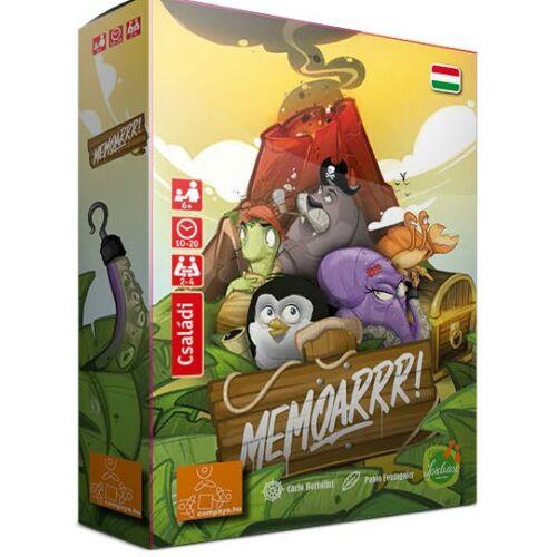 MemoArrr társasjáték