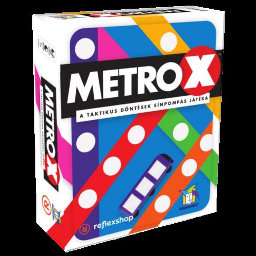 Metro X társasjáték