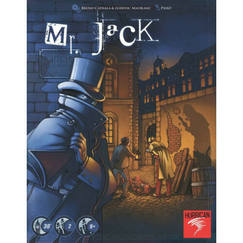 Mr. Jack in London társasjáték