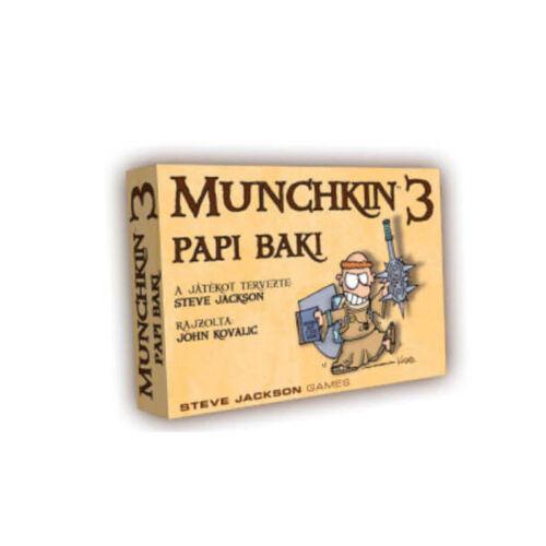 Munchkin 3: Papi Baki kiegészítő