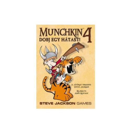 Munchkin 4: Dobj egy Hátast kiegészítő