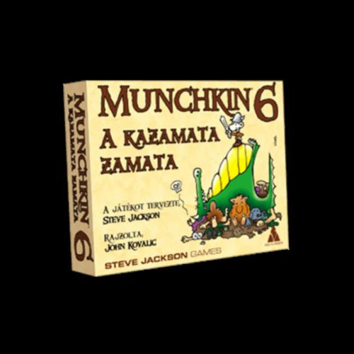 Munchkin 6: A Kazamata Zamata kiegészítő