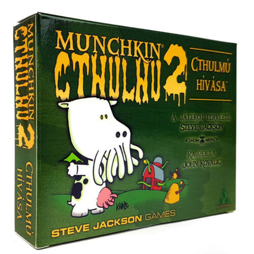 Munchkin Cthulhu 2: Cthulhú Hívása kiegészítő