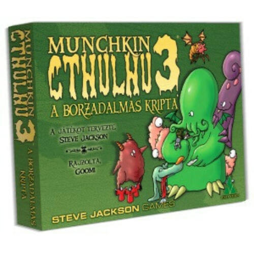Munchkin Cthulhu 3: A Borzalmas Kripta kiegészítő