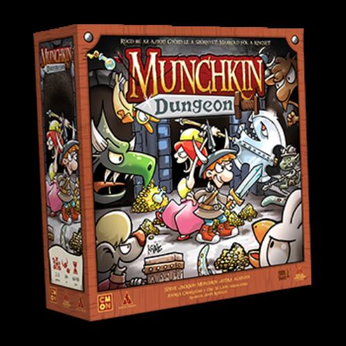 Munchkin Dungeon (magyar kiadás) társasjáték