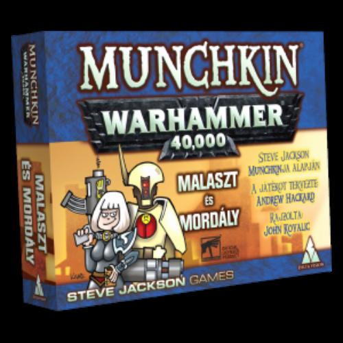 Munchkin Warhammer 40.000 - Malaszt és mordály