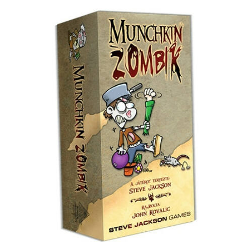 Munchkin Zombik társasjáték