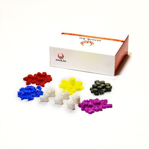 Vírus Csomag (126db) – Kompatibilis a Pandemic társasjátékkal