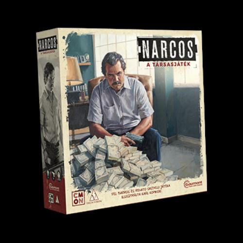 Narcos (magyar kiadás) társasjáték