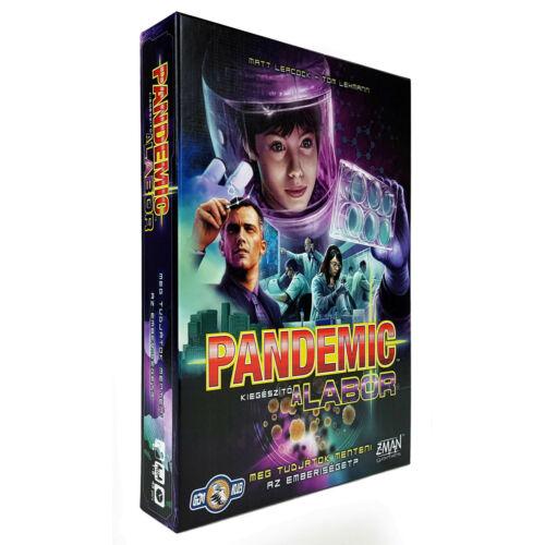 Pandemic: A Labor kiegészítő